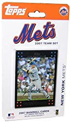 Topps New York Mets 2007 Baseball Card Team Set