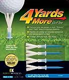 GreenKeeper 4 Yards More Golf Tee, Driver Blue, 3-1/4-Inch