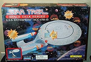 Star Trek Starship USS Enterprise NCC-1701D Space Talk Series