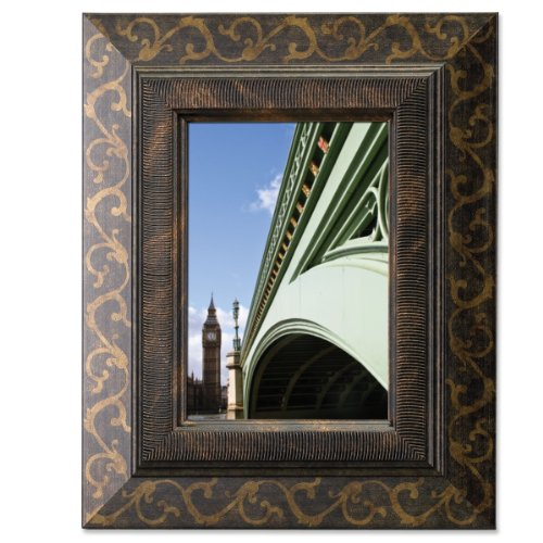 Lawrence Frames Bronze Scroll 4X6 Picture Frame front-1057882