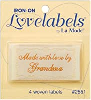 LoveLabels 4/pkg Inch Made With Love By Grandma Inch from BLUMENTHAL LANSING