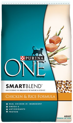 Detail image Purina One Cat Smartblend Chicken and Rice Cat Food, 16-Pound