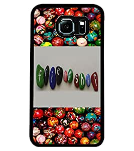 ColourCraft Friendship Design Design Back Case Cover for SAMSUNG GALAXY S6 EDGE