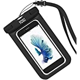 YOSH® Universal Waterproof Case Bag for Apple iPhone 6s, 6 Plus, Samsung Galaxy S6 Edge. Best Water Proof, Dust...