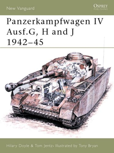 Panzerkampfwagen IV Ausf.G, H and J 1942-45 (New Vanguard)