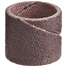 3M  Cloth Band 341D, 1/2&#034; Diameter x 1/2&#034; Width, P120 Grit, Brown (Pack of 100)