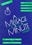 img - for A Message in a Minute: More Lighthearted Minidramas for Churches book / textbook / text book