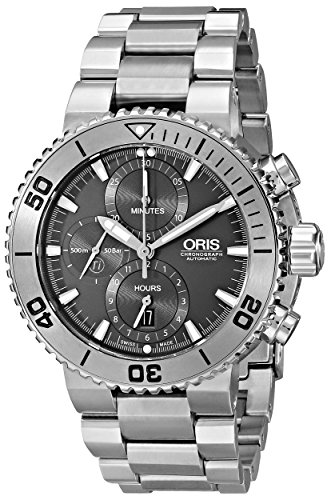 Oris-Mens-67476557253MB-Analog-Display-Swiss-Automatic-Silver-Watch