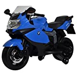 Best Ride On Cars BMW Motorcycle 12V, Blue (Color: Blue, Tamaño: Small)