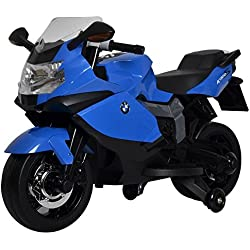 Best Ride on Cars BMW 12V Motorcycle Ride-On (Blue)