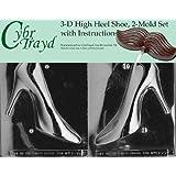 CybrTrayd 3-D High Heel Shoe Chocolate Mold Kit