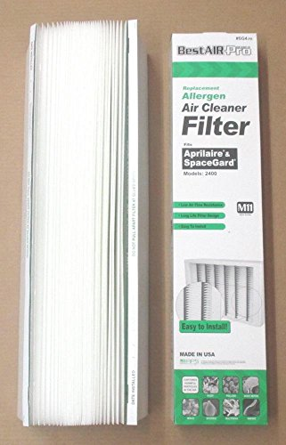 Heating, Cooling & Air SG4 Air Filter Media for Aprilaire SpaceGard Air Cleaner 401 2400 X0577 MERV 11 (Used Ac Heater Window Unit compare prices)