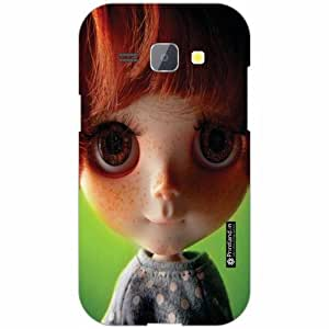 Samsung Galaxy J1 Back Cover - Silicon Big Eyes Designer Cases