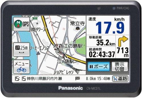 Panasonic Gorilla SSDポータブルカーナビステーション 4.3v型 ブラック CN-MC01L