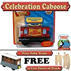 Thomas & Friends Limited Edition Musical Sodor Celebration Caboose Wooden Train