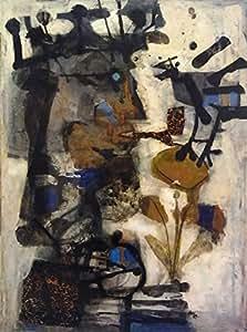 Amazon.com: Antoni Clave, titulo: Roi a l'oiseau(1957), LITHOGRAPHY OF