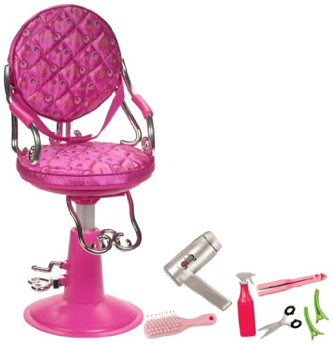 "Our Generation Hot Pink Salon Chair For 18"" Dolls front-902433"