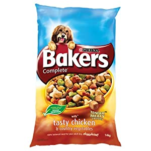 Bakers Complete with Tasty Chicken and Country Vegetables 14 kg