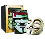 Alan Moore V For Vendetta Book and Mask Set