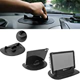 HitCar Car Desk Dashboard Anti-Slip Silicone Mat Pad Smart Stand Mount Holder for PSP GPS Mobile Phone PDA GPS Tablet iPhone