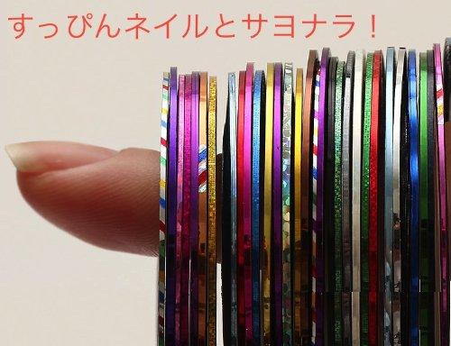 meu Amor オリジナル ネイル アイテム ストライピングテープ、ウォーターシール 、メタルパーツ、 ホログラム カラーセット セルフネイラー デコレーション ネイル セルフ