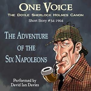 The Adventure of the Six Napoleons Audiobook