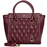 Da Milano Tote Bag ( BERRY)