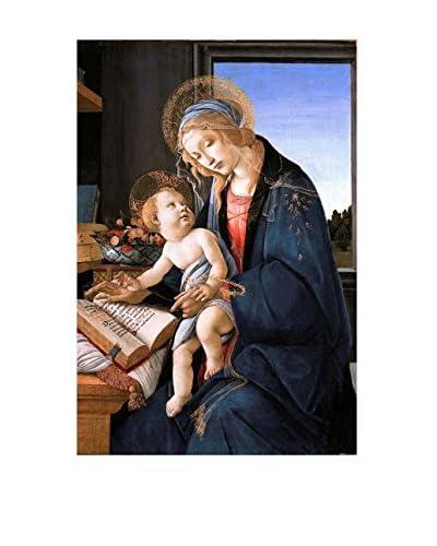 LegendArte Lienzo Madonna Del Libro 60X90 Cm