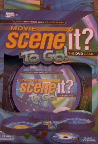 Movie Scene It? To Go! DVD Travel Game