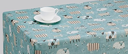 oilcloth-tablecloth-pvc-tablecloth-1413-sheep-duckegg-134-x-100cm-matt-finish-select-from-100cm-to-5