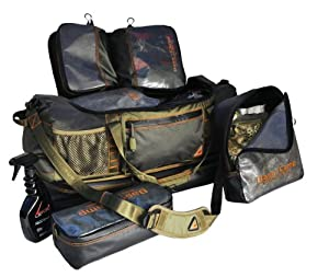 GamePlan Gear Base Camp Travel System, Olive Black by GamePlan Gear