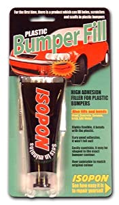 UPOL UPBLIS/BF Isopon Bumper Fill High Adhesion Filler for Plastic, 100 ml, Blister Pack Grey