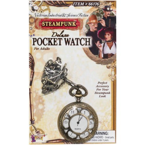 Steampunk Deluxe Pocket Watch Adult
