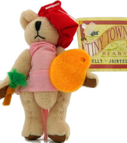 russ-tiny-town-miniature-jointed-plush-teddy-bear-girl-artist-3-1-2