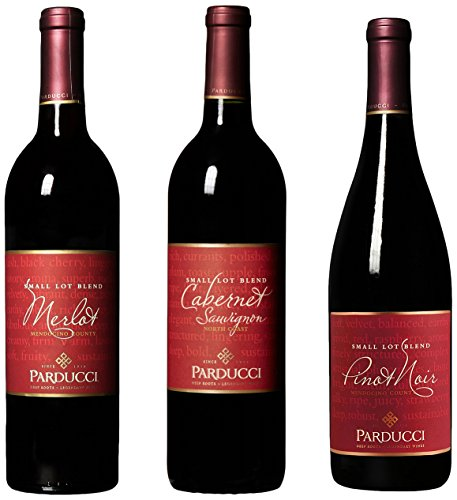 Parducci Wine Cellars Classic 3 Bottle Red Wine Mixed Pack, 4th Edition, 3 x 750 mL (Red Table Wine compare prices)