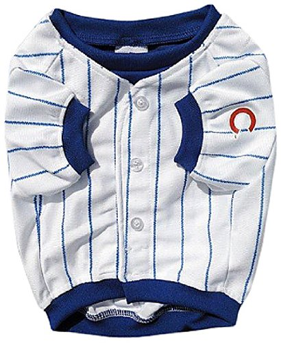 Sporty K9 Chicago Cubs Baseball Dog Jersey-Design 2, X-Large at Amazon.com