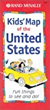 Kids Map of the United States: Fun Things to See and Do