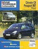 Rta 669.2 Peugeot 807/Citroën C8 d 2.0 & 2.2 Hdi Etai
