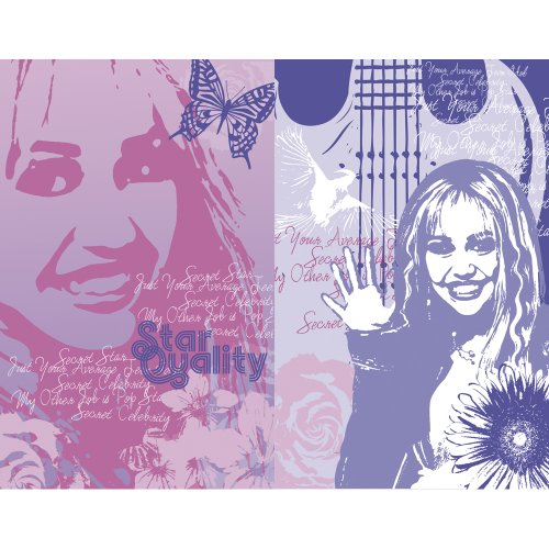 Blue Mountain Wallcoverings 31720493 Hannah Montana 2-Piece Wall Art - 1