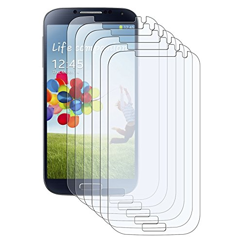 Everydaysource® Compatible with Samsung© Galaxy S IV/ S4 i95006-Pack Reusable Clear Anti-Glare Screen Protector
