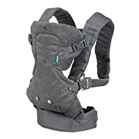 Infantino Flip Advanced 4-in-1 Convertible Carrier, Light Grey from Infantino