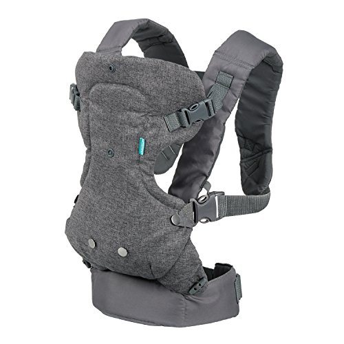 Best Price Infantino Flip Advanced 4-in-1 Convertible Carrier, Light Grey