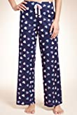 Pure Cotton Heart Print Pyjama Bottoms [T37-5533-S-BGHF]