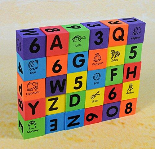 Verdes-30-Pcs-Alphabet-Numbers-Foam-Blocks