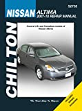 Nissan Altima, 2007 - 2010 (Chilton's Total Car Care Repair Manuals)