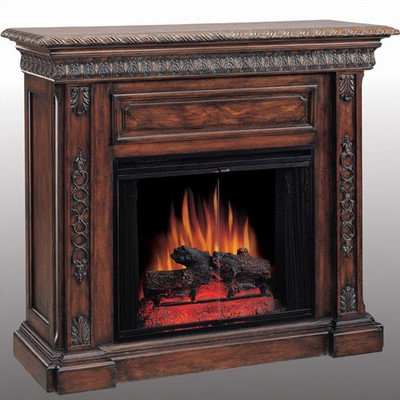 ClassicFlame San Marco Electric Fireplace Mantel Package in Antique Walnut - 28WM671-W501 picture B004VYMQLW.jpg