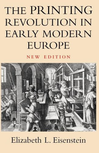 The Printing Revolution in Early Modern Europe