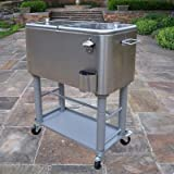 Oakland Living 60 Quart Party Cooler Cart