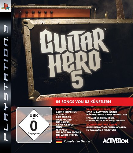 GUITAR HERO 5 [IMPORT ALLEMAND] [JEU PS3]