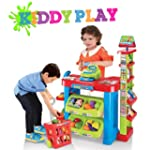 Kiddy Play Deluxe Supermarket Playset